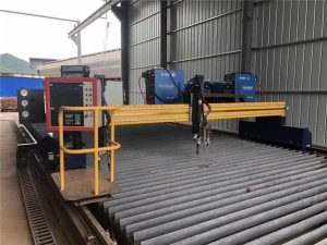 Automobile Cutting Plasma CNC Automated Double Driving 4m Span 15m Rails