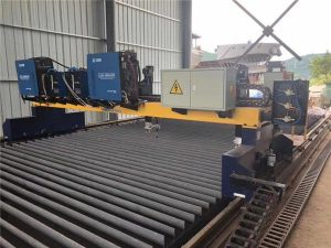 Double Drive Gantry CNC Plasma Cutting Machine for Cutting Solid Steel H Beam hilberîna beam