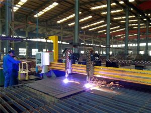 Gantry CNC Plasma Cutting Machine and Machine Cutting Flame for Plate Steel
