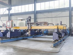 Gantry Gantry Intelligence Machine Cutting Plate Metal Metal Machine Plasma and flame cutter makîneyên otomatîk