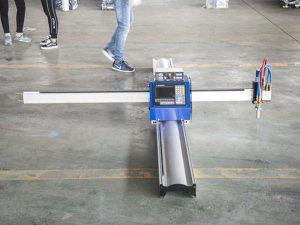 Mîkrojeya teknolojiya nû ya destpêka CNC cutter metal / portable cnc cutter plasma